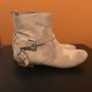 43003fb93f40c Express Shoes   Perfect Black Ankle Booties 8   Poshmark